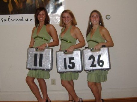Game show halloween costume adult girls