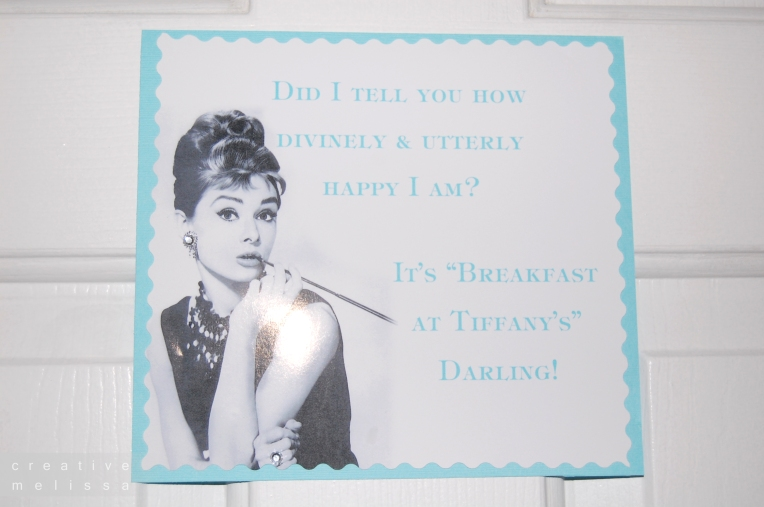 breakfast at tiffanys bridal shoewr party