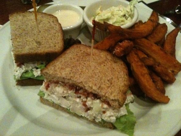 Iron Hill Pecan Chicken Salad Sandwich