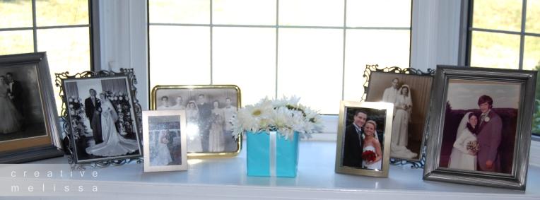 display wedding photos of family relatives