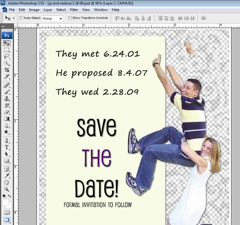 Save the date design photoshop picture image cards