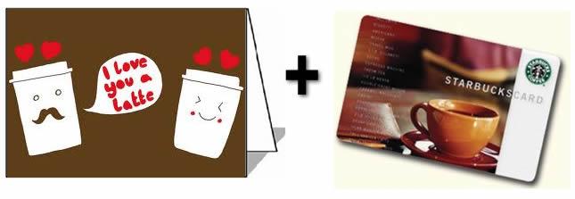 gift card valentine's love idea diy homemade