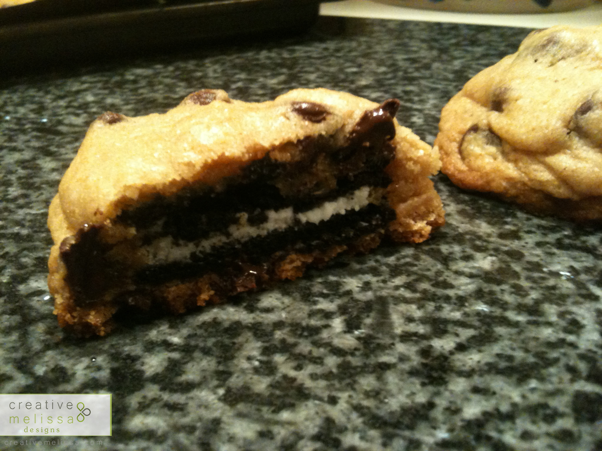goey cookie Oreos chocolate homemade recipe how to
