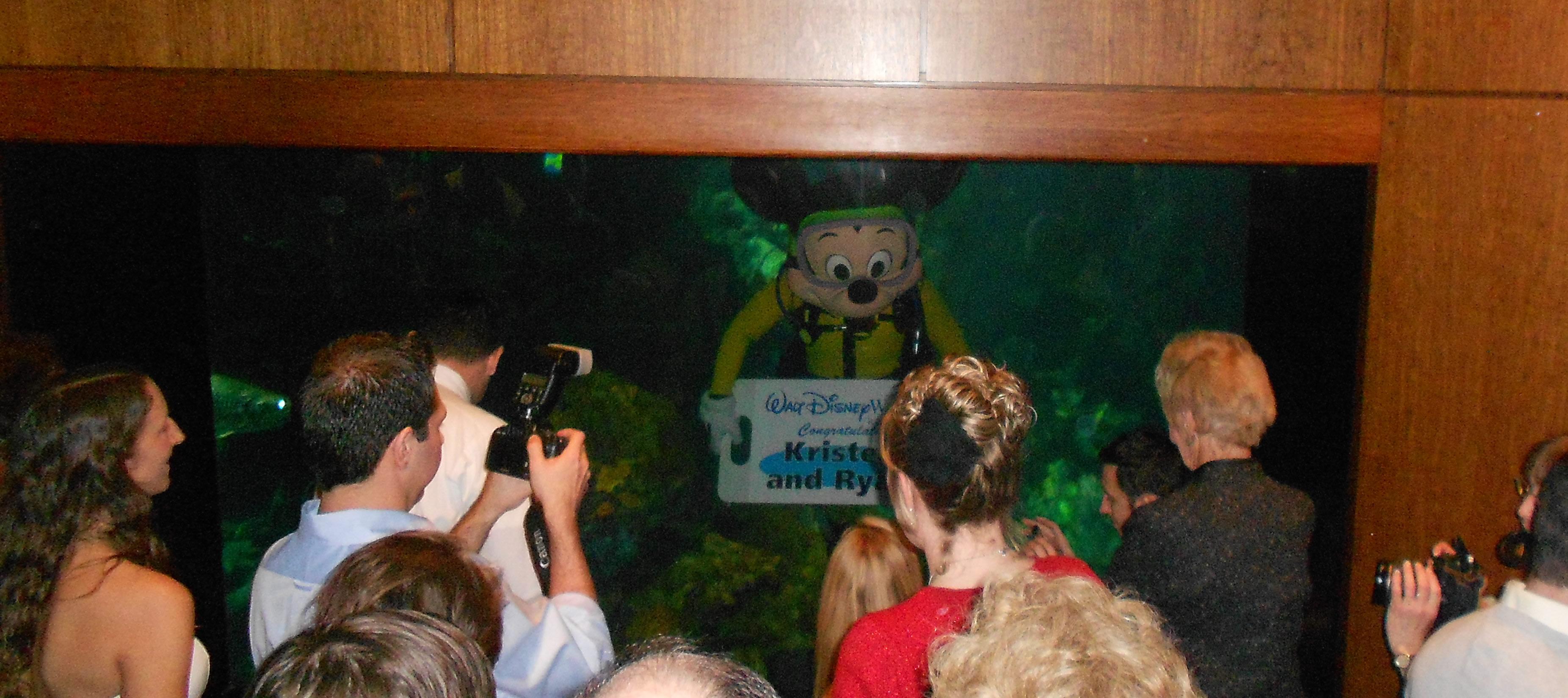congrats sign mickey mouse wedding