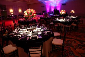 Reception ballroom mickey theme