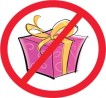 no gifts please party
