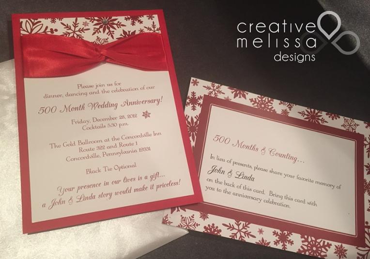 No Gifts Please Invitation Wording – Creative Melissa Designs