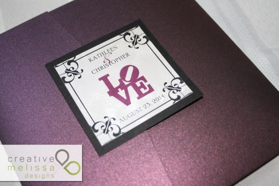 LOVE Statue Philadelphia Wedding tag - Creative Melissa Designs