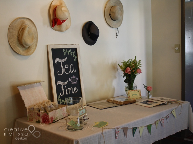 tea party decoration ideas