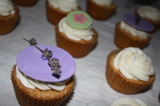Lavender vanilla cupcakes Sweet Melissa west chester pa